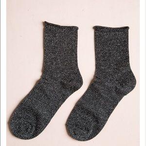 Brandy melville glitter socks